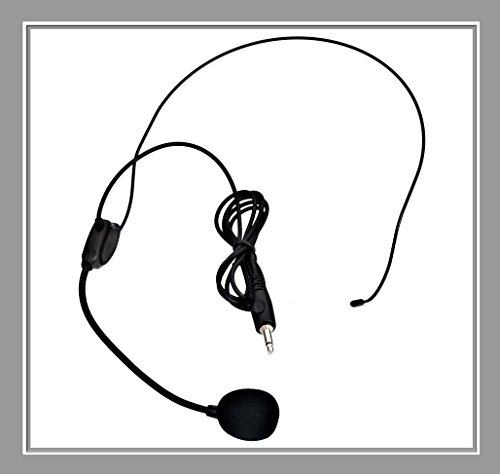 VoiceBooster Headset Microphone for VoiceBooster (Aker) Voice Amplifiers by TK Products, LLC]()