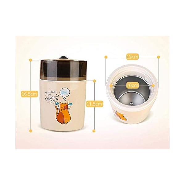 Macchina per Il Gelato elettrica Fai-da-Te congelata Yogurt e amp Sorbetto Macchina Mini Macchina Automatica per Gelati… 2 spesavip