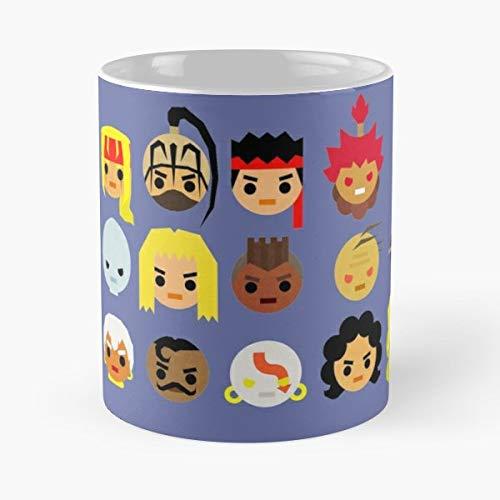 Street Fighter 3rd - Ceramic Mugs