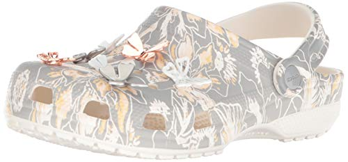 Pictures of Crocs Women's Classic Botanical Butterfly Clog 205249 1