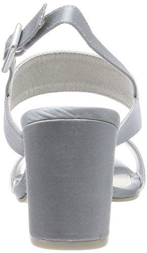 Caviglia Marco Blue Blu polar Con Tozzi Donna Alla Sandali 28369 Cinturino qfPwqYr
