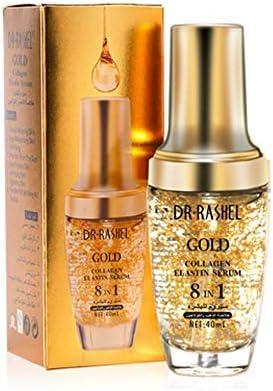 سيروم للبشرة بخلاصة زيت الذهب والكولاجين والتبييض وشدّ الوجه ضد الشيخوخة من دكتور راشيل
