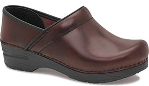 Dansko Womens Professional Mule Cordovan Cabrio Leather
