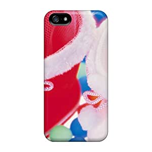 Tpu Case Cover Compatible For Iphone 5/5s/ Hot Case/ Colorful Cute Socks