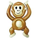 "Keenery Giant 6 Foot Raft Monkey Emoji Pool Float for Kids and Adults 72"" x 48"""