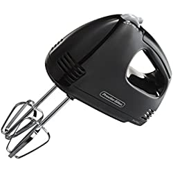 Proctor Silex 62507 5-Speed Easy Mix Hand Mixer Black