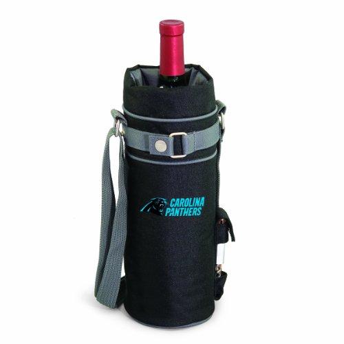 NFL Carolina Panthers Insulated Single Bottle Wine Sack with -