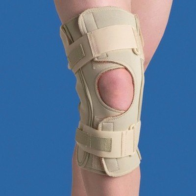 Swede-O 80276 Thermoskin Hinged Knee Brace, Open Wrap, Si...