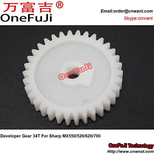 Printer Parts 10pcs Developer Gear 34T for Sharp MX 550 520 620 700 MX550 MX520 MX620 MX700 by Yoton