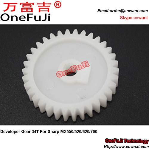 Printer Parts 10pcs Developer Gear 34T for Sharp MX 550 520 620 700 MX550 MX520 MX620 MX700