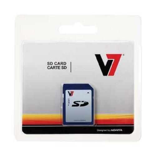 V7 4GB SDHC Class 6 Flash Memory Card (VASDH4GCL6R-1N)