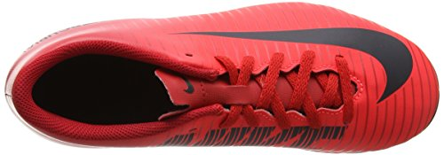 Nike Unisex-Kinder Jr Mercurial Vortex III FG Fußballschuhe Mehrfarbig (University Redblackbright Crimson)