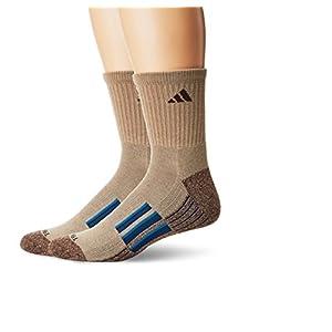 adidas Men's Climalite X Ii Mid Crew Socks (2 Pack)