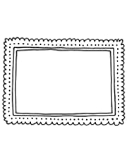 Darice Embossing Folder: Frame with Dots