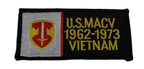 US MILITARY ASSISTANCE COMMAND VIETNAM MACV 1962-1973 VIETNAM PATCH - Color - Veteran Owned Business