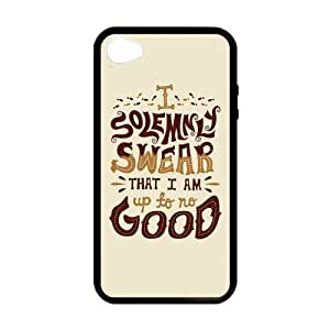 2015 CustomizedHarry Potter Quotes iPhone 4 4s Cases-Cosica Provide Superior Cases For iPhone 4 4s