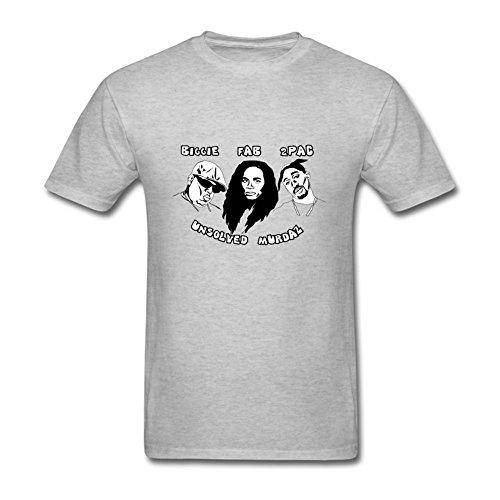Oryxs Men's Rap Coty Gonzales T-Shirt XL Grey
