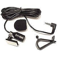 Freeautomic Micro 3,5mm Externe de Montage pour Voiture véhicule Tête unité Compatible Bluetooth Audio Stéréo Radio GPS DVD