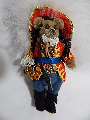 "Used, World of Miniature Bears 5"" Mohair Bear Captain Hook for sale  Delivered anywhere in USA"