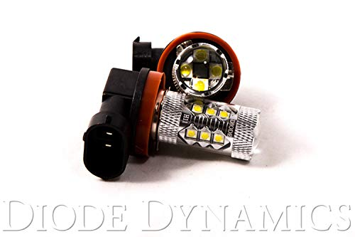 Diode Dynamics H11 XP80 Cool White Fog Lamp (pair) for 2015+ Subaru WRX/STI & 2014-2017 Forester/Outback/Legacy