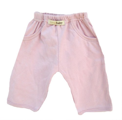 L'ovedbaby Baby Girls' Signature Pants, Pink, 9-12 Months