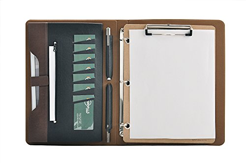 Binder Portfolio Clipboard organizing documents