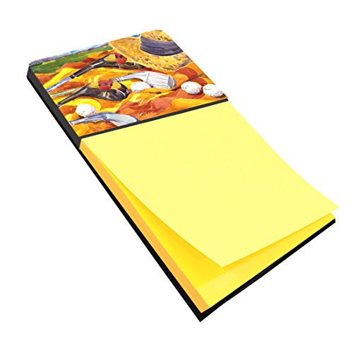 Caroline's Treasures Golf Clubs Golfer Refillable Sticky Note Holder or Postit Note Dispenser, 3.25 by 5.5