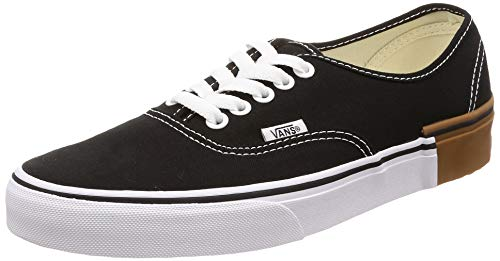 Vans Authentic (Gum Block) Black (Vans Mens Gumsole)