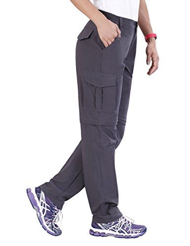 Unitop Women's Quick Dry Convertible Cargo Pants