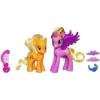 My Little Pony Princess Cadance and Applejack Figures