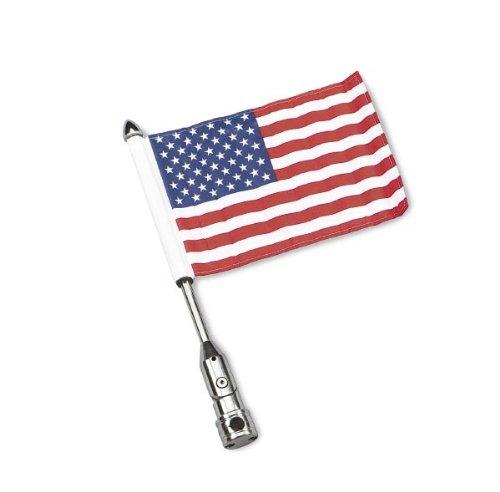 Pro Pad Folding Flag Mount With USA Flag 1/2 Bars