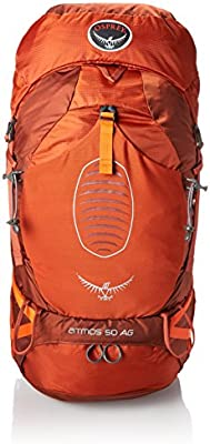d1276cf56c Amazon.com  Osprey Men s Atmos AG 50 Backpack (2017 Model)