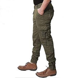 Lezendary Apparels Men's Slim Fit Cargos