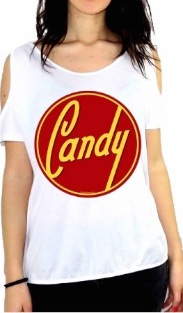 JOHNNY DEERS SHIRT TOP CAMISETA CANDY 98641 GGG57 WHITE