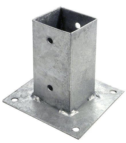 CONNEX HV4273 71 x 71mm Galvanised Post Support Shoe Conmetall