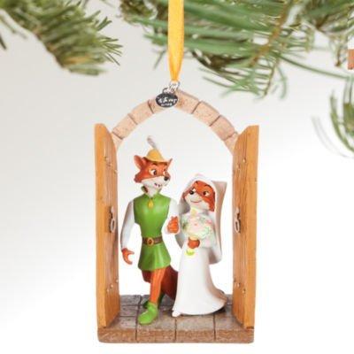 Addobbi Natalizi Disney.Ufficiale Disney Robin Hood Decorazione Di Natale Matrimonio Da