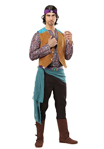 Men's Fortune Teller Gypsy Costume Medium -