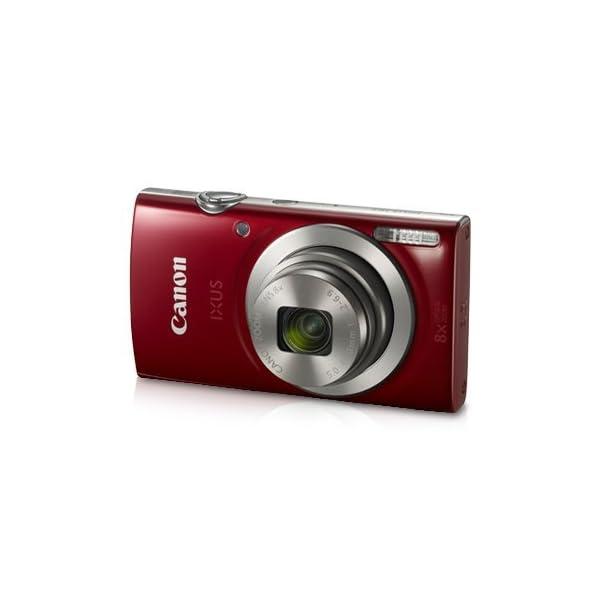 RetinaPix Canon IXUS 185 20MP Digital Camera with 8X Optical Zoom (Red)