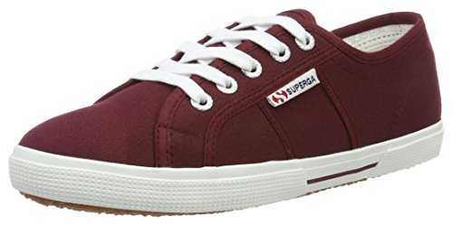 Superga Unisex-Erwachsene 2950 Cotu Sneaker Rot (dk bordeaux)