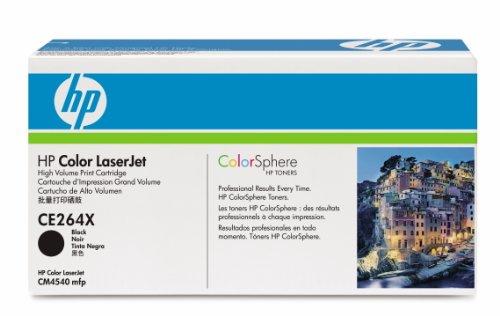 HP LaserJet CE264XC Black Print Cartridge Toner