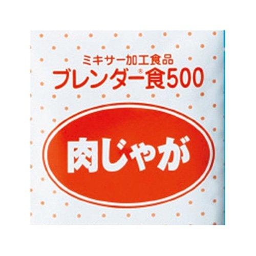ブレンダー食500 肉じゃが NJ 肉じゃが B07DFR8VX4 (6袋X3箱) ケース NJ B07DFR8VX4, 京都ふろしき倶楽部:a5ddad66 --- ijpba.info