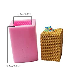 3D Bee Honeycomb Silicone Candle Molds for Candle