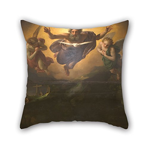 Eyelet Gorgeous (Artistdecor 18 X 18 Inches / 45 By 45 Cm Oil Painting Anton Raphael Mengs - Descent Pillowcase,two Sides Is Fit For Dinning Room,bar,sofa,couch,husband,kids Boys)