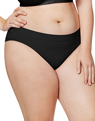 Just My Size Cotton Panties (Just My Size Cool Comfort Pure Bliss Bikinis 5-Pack (1412C5) -ASSORTED -11)