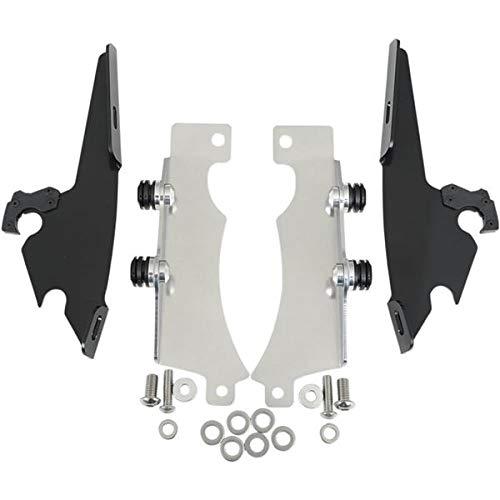 Memphis Shades MEB8969 Black Trigger-Lock Mount Kit for Yamaha XVS1300A and XVS950 V-Star 2007-2015