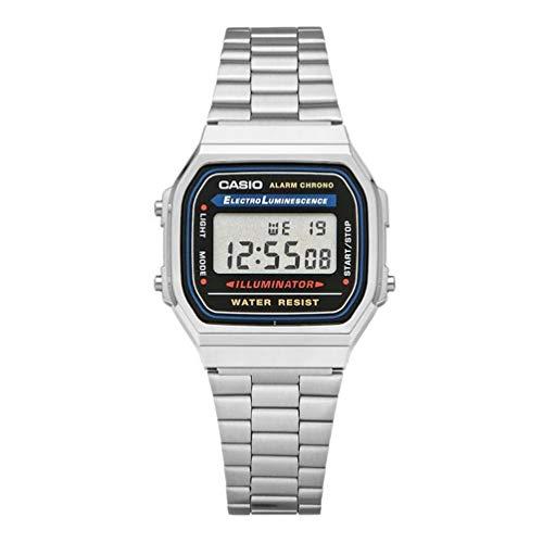 Casio Men's Vintage A168WA-1 Electro Luminescence Watch