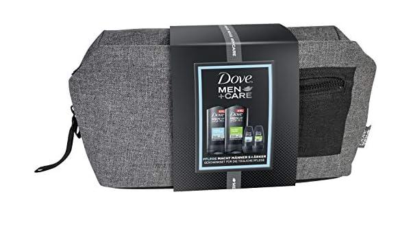Dove Men + Care Set de regalo con estuche para dama (2 x GEL de 400 ml & 2 x Roll On Deo 50 ml), 900 ml: Amazon.es: Belleza