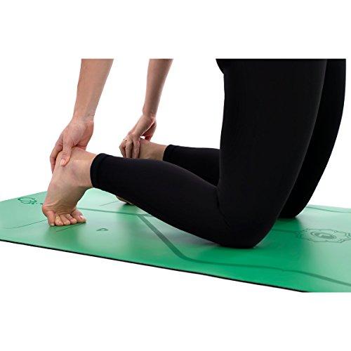liforme Yoga Matte Grün