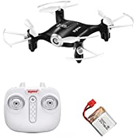 Skytoy Mini RC Quadcopter Drone with Altitude Hold Quadcopter 2.4Ghz Remote Control Toy Drones, Black