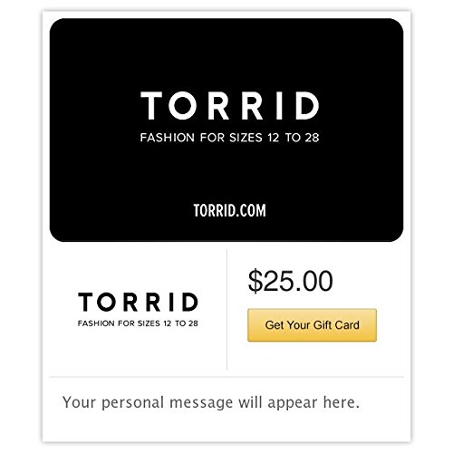 Torrid Gift Cards - Email Delivery